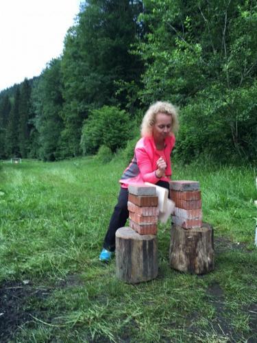 Holzzerschlagen
